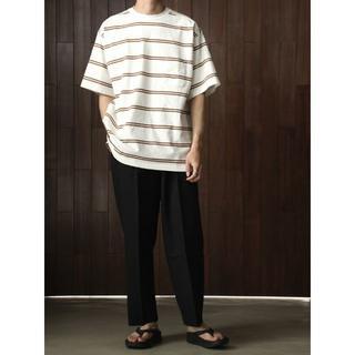 マーカ(marka)のmarka 19s/s BORDER TEE(Tシャツ/カットソー(半袖/袖なし))