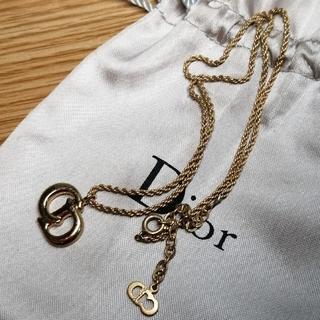 クリスチャンディオール(Christian Dior)のクリスチャン・ディオール ロゴネックレス(ネックレス)