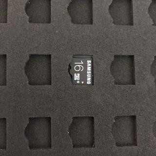 サムスン(SAMSUNG)のSAMSUNG マイクロSDカード 16Gバイト(その他)