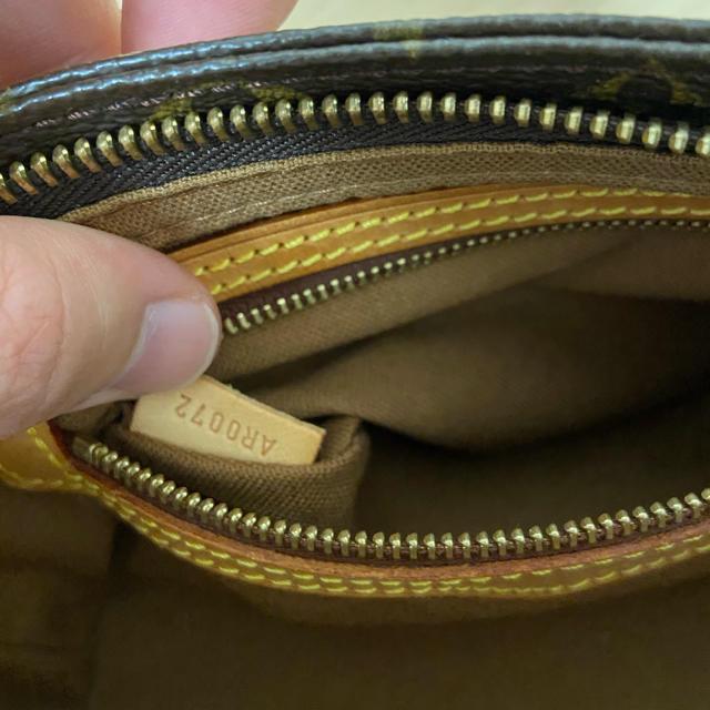 LOUIS VUITTON(ルイヴィトン)のヴィトン トロター ショルダー バッグ モノグラム 正規品 美品 レディースのバッグ(ショルダーバッグ)の商品写真
