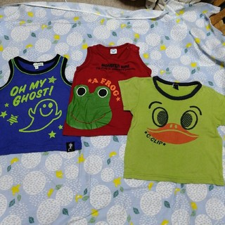 サンカンシオン(3can4on)のキッズシャツ3枚(Tシャツ/カットソー)