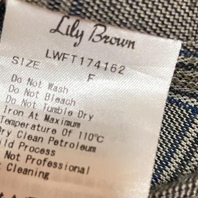 Lily Brown(リリーブラウン)のチェックビスチェ レディースのトップス(シャツ/ブラウス(長袖/七分))の商品写真
