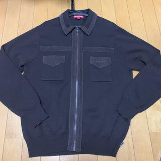 Supreme - supreme corduroy detailed zip sweater
