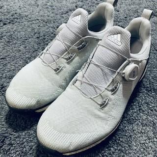 アディダス(adidas)のアディダス フォージファイバー ボア グレー 26.0cm(シューズ)