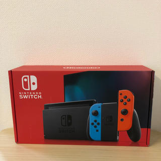 ニンテンドウ(任天堂)の新型 Nintendo Switch 本体 ネオン(家庭用ゲーム機本体)