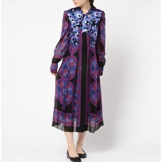 ANNA SUI - ロング ドレス