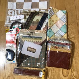 新品 キルトパーティーのお楽しみ袋(生地/糸)