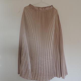 GU - GU プリーツロングスカート