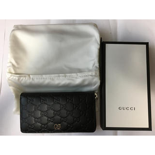グッチ(Gucci)のGucci グッチ 長財布 473928 CWC1N 1000 ブラック(長財布)