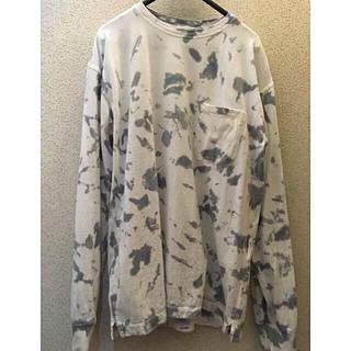 アンユーズド(UNUSED)のUNUSED long sleeve tie dye t-shirt.(Tシャツ/カットソー(七分/長袖))