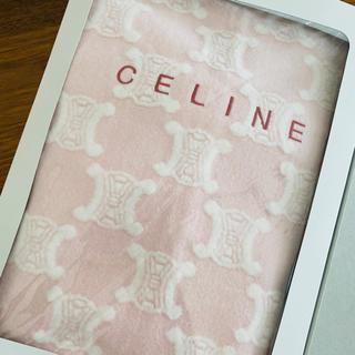 celine - 【新品】セリーヌ 膝掛け ピンク