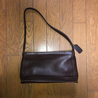 COACH - old coach used leather bag