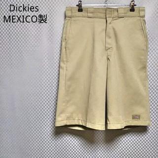 ディッキーズ(Dickies)のディッキーズ☆チノパン ショートパンツ ハーフパンツ 短パン W30 ベージュ(ショートパンツ)