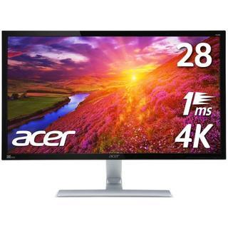 エイサー(Acer)のAcer  4Kモニター RT280K(ディスプレイ)