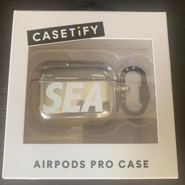 SEA(シー)の(AIR PODS PRO) wind  and sea & CASETiFY スマホ/家電/カメラのオーディオ機器(ヘッドフォン/イヤフォン)の商品写真