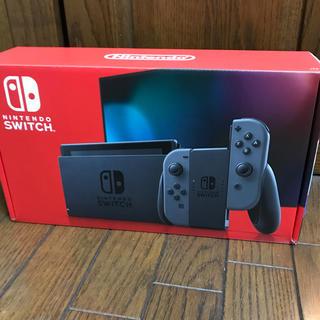ニンテンドースイッチ(Nintendo Switch)の新品 Nintendo Switch 任天堂スイッチ 本体 グレー ニンテンドウ(家庭用ゲーム機本体)