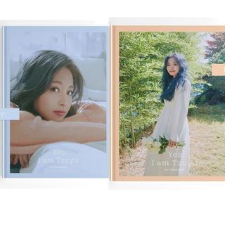 ウェストトゥワイス(Waste(twice))のTWICE TZUYU 1ST PHOTOBOOK 2種類(アイドルグッズ)