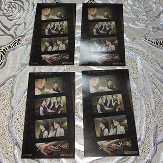 カドカワショテン(角川書店)のジョーカー・ゲーム Newtype×アニメガ ステッカー×4(カード)