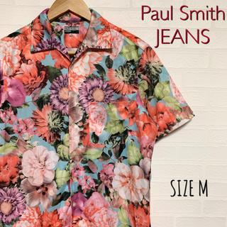 Paul Smith - Paul Smith JEANS ポールスミス 半袖 花柄シャツ サイズM