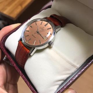 オメガ(OMEGA)のfillmart様専用 OMEGA ジュネーヴ Geneve自動巻 ピンク文字盤(腕時計(アナログ))