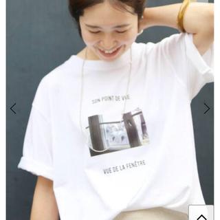 IENA - 新品 IENA Bonne Vie フォト Tシャツ
