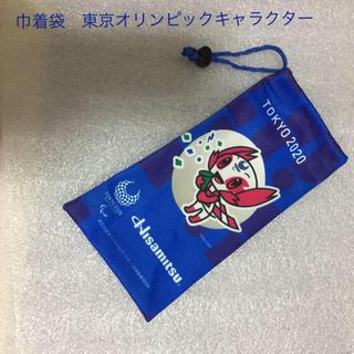 巾着袋 東京オリンピックキャラクター(ランチボックス巾着)