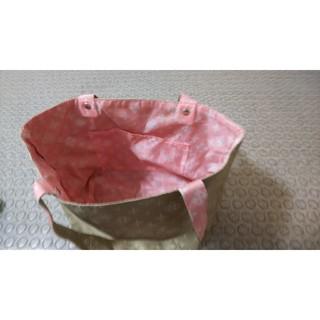 ラシット(Russet)のデイリーラシット 茶系×ピンクのカバン(トートバッグ)