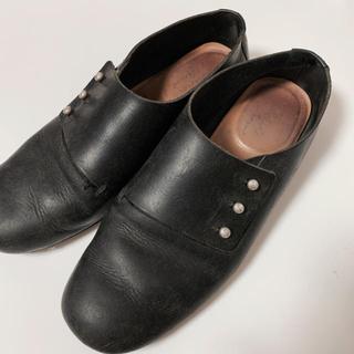 ネストローブ(nest Robe)のSHOE&SEWN   medoc ブラック 38(ローファー/革靴)