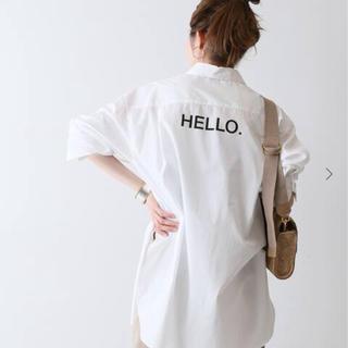 FRAMeWORK - バックロゴシャツ