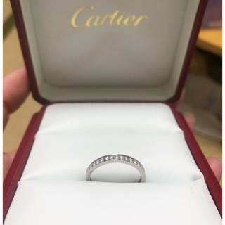 Cartier - 今週末のみ大幅値下> Cartier フルエタニティ #52  PT950