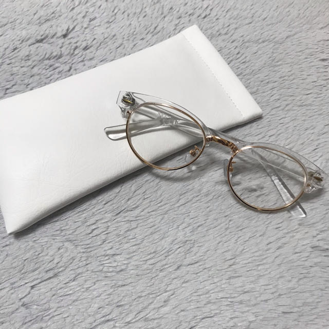 MEME vintage clear cat sunglasses レディースのファッション小物(サングラス/メガネ)の商品写真