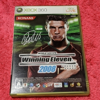 エックスボックス360(Xbox360)のワールドサッカーウイニングイレブン2008 XBOX360(家庭用ゲームソフト)