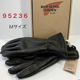 REDWING - レッドウィング バックスキン手袋グローブ革レザー95236黒Mサイズ本革 高級感