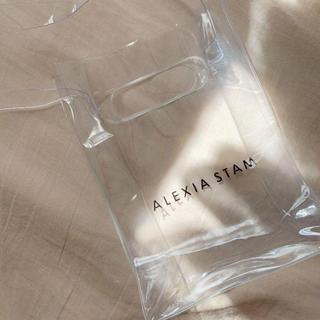 ALEXIA STAM - JJ付録 ALEXIASTAM PVCショルダーバッグ