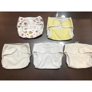 新生児用 布おむつカバー5枚セット(ベビーおむつカバー)