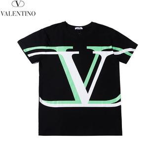 ヴァレンティノ(VALENTINO)のVALENTINO Tシャツ 半袖 シャツ メンズ レディース 黒(Tシャツ/カットソー(半袖/袖なし))