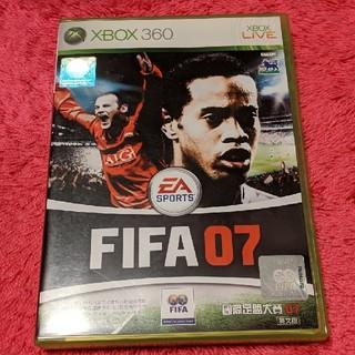 エックスボックス360(Xbox360)のFIFA07 SOCCER XBOX360 英文版(家庭用ゲームソフト)