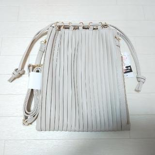 シマムラ(しまむら)のしまむら プリーツ巾着バッグ(ショルダーバッグ)