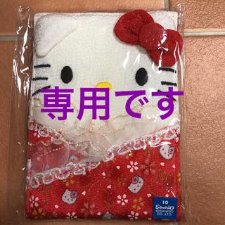 ハローキティ - 新品 ハローキティ  ミラー サンリオ  和柄 着物  赤  日本限定