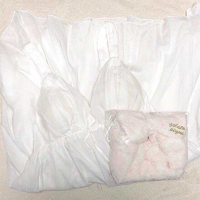 gelato pique(ジェラートピケ)の【最終値下げ】ジェラピケ♡キャミソール&ターバン レディースのルームウェア/パジャマ(ルームウェア)の商品写真