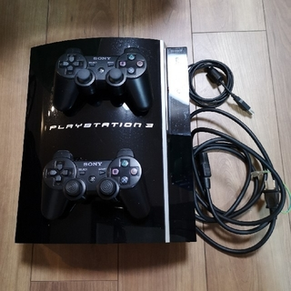 PlayStation3 - PS3 CECHH00+コントローラー×2