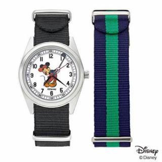 Disney - ミッキーマウスの替えベルト付き腕時計 オトナミューズ増刊号付録