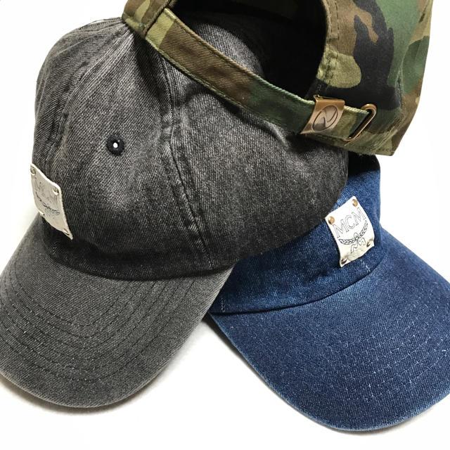 MCM(エムシーエム)の《新品・送料無料》MCM ロゴ キャップ メンズの帽子(キャップ)の商品写真