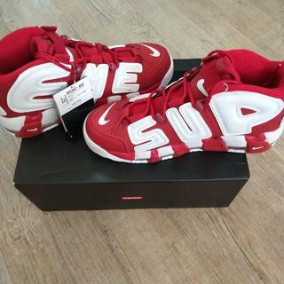 NIKE - 26.5cm Supreme/Nike Air more uptempo