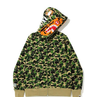 A BATHING APE - ABC CAMO TIGER FULL ZIP HOODIE