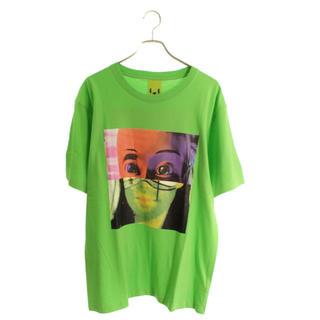 パム(P.A.M.)の新品未使用 P.A.M. × facetasm コラボTシャツ ライムグリーン(Tシャツ/カットソー(半袖/袖なし))