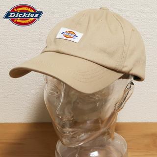 ディッキーズ(Dickies)のDickies ディッキーズ ロゴ キャップ カーキベージュ(キャップ)