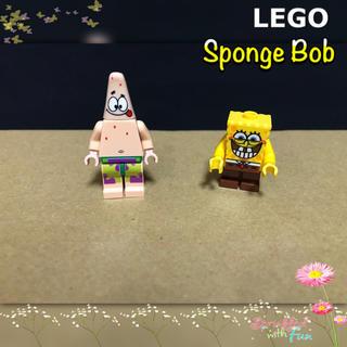 Lego - LEGO レゴブロック ミニフィグ スポンジボブ スリンキー