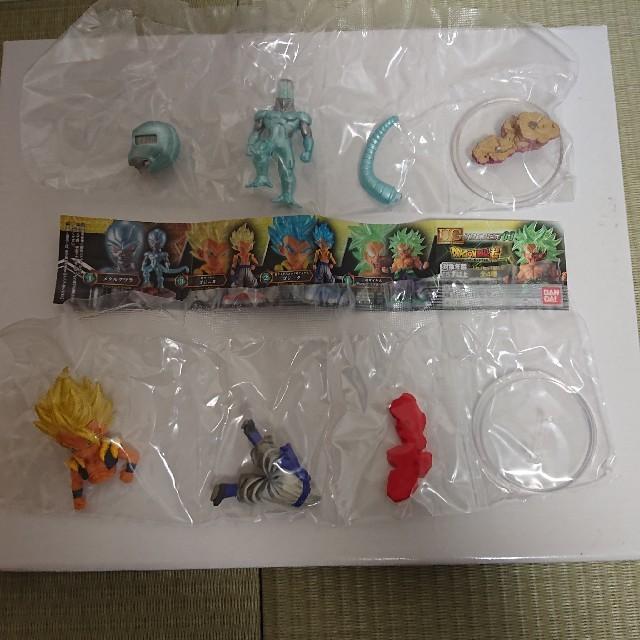 ドラゴンボール(ドラゴンボール)のドラゴンボール ガチャ UG THE BEST03 ゴジータ メタルクウラ エンタメ/ホビーのおもちゃ/ぬいぐるみ(キャラクターグッズ)の商品写真