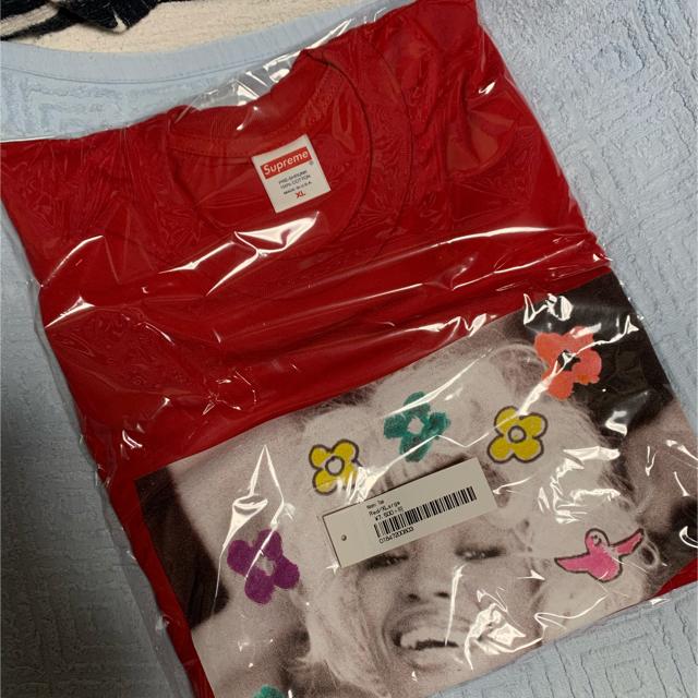 Supreme(シュプリーム)のnaomi tee red メンズのトップス(Tシャツ/カットソー(半袖/袖なし))の商品写真